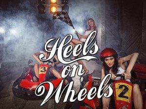 Heels on Wheels Go-Karting